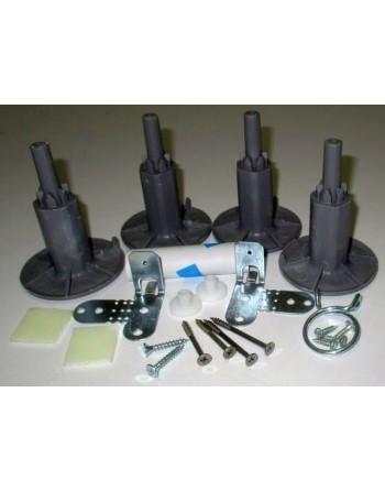 Пълен комплект аксесоари за монтаж на съдомиялна машина