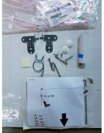 комплект аксесоари за монтаж за вграждане на съдомиялна машина